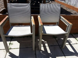 Chairs for patio set