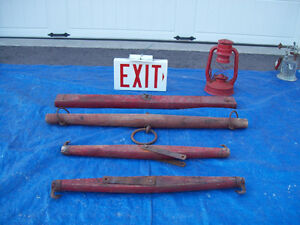 5 RUSTIC DECOR ANTIQUE HORSE YOKES** SEE EACH PRICE    *