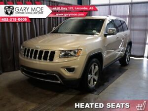 2015 Jeep Grand Cherokee LIMITED   - Heated Leather Seats - Sunr
