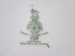 Vintage Couvert  vaisselle  Doulton Etude Lac-Saint-Jean Saguenay-Lac-Saint-Jean image 3