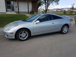 2003 Toyota Celica GT Hatch back, Low mileage