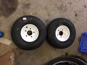 Skidoo trailer tires and rims