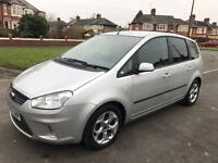 2007 Ford C-MAX 1.8 16v 125 Zetec + Full Service and Mot 06/2017