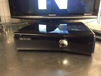 Xbox 360 slim Gloss Black halo controller!!