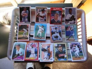 BASEBALL CARDS - OVER 6700 CARDS - REDUCED!!!