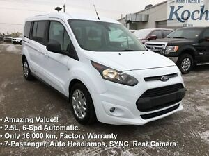 2015 Ford Transit Connect XLT   - Low Mileage
