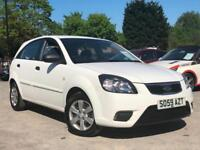 2010 KIA RIO 1.4 5 DOOR, 1 OWNER FROM NEW + WOW 60K MILES + HPI CLEAR + WHITE !!