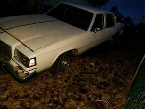 1985 Buick lesabre collectors edition project
