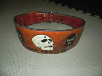 Weight Lifting Leather Belt,   stunning design, genuine leather