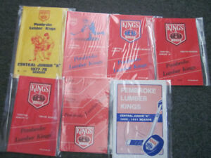 OLD PEMBROKE LUMBER KINGS HOCKEY PROGRAMS