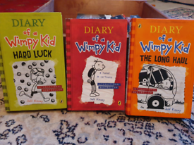 Dairy of a Wimpy Kid books Hard luck The Long Haul A Novel in Cartoon