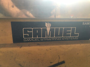 Commercial Samuel Strapping ( Bander )  Machine FOR SALE London Ontario image 4