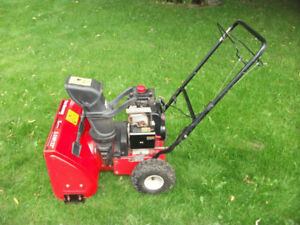 "Yardmachine 5.5hp 22"" snowblower"