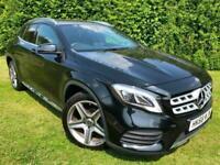 2018 68 Mercedes GLA 200 AMG Line Premium Auto Petrol Black Full MOT 37,000 Mile