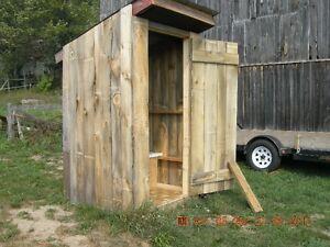 privy or storage shed