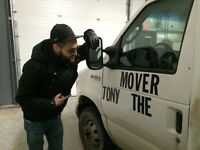 MOVING IS EASIER WITH TONY THE MOVER, 902-402-8626!!