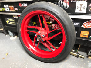 DUCATI PANIGALE 899 OEM WHEELS & TIRES FRONT + REAR 2014