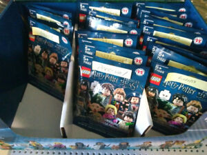 Lego Harry Potter Minifig Packs and Full Set with Percival