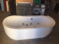 Jacuzzi Bath Tub with Panel and Taps