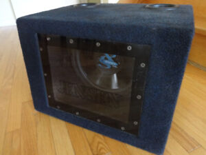 """Jensen XS12/12"""" High Performance Subwoofer with Ported Box"""