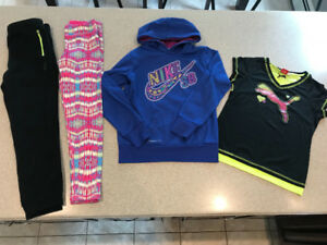 Girls size 10, 12 and 10/12 Athletic Lots