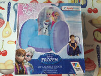 Inflatable frozen chair