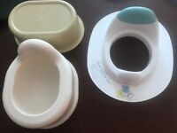 Child Potty, Toilet Trainer Seat and Step