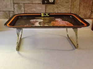 VINTAGE 1982 E.T. METAL SNACK TRAY London Ontario image 2