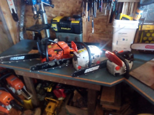 Echo chainsaws for sale.