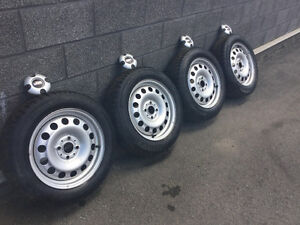 4 pneus hiver175/65r15 Continental Winter Contact/Mini Cooper
