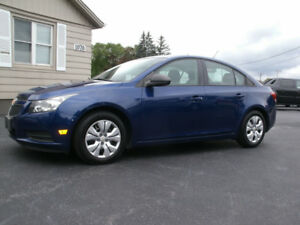 2013 Chevrolet Cruze LS: Only107 Kms,Drives Like New!, Must See.