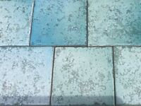 Stunning High Quality Blue Italian Tiles Bargain!