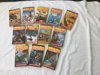 Biggles Paperback books. 12 in the collection. By Captain W.E. Johns. Good condition.