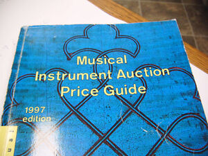 musical instrument auction pricing