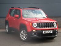 JEEP RENEGADE 2.O MULTIJET 4X4 SUV FOR SALE / RARE PANORAMIC SUN ROOF FACTORY FITTED
