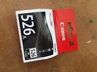 Genuine Canon ink cartridge CLI 526BK