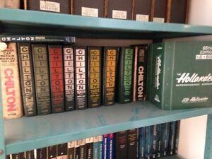 Shop manuels Chilton,Mitchel,Hollander, Shop Ke