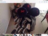 Donnay golf set, etc. etc.