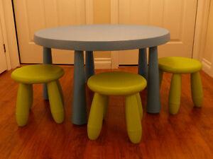 Table Ikea pour enfants