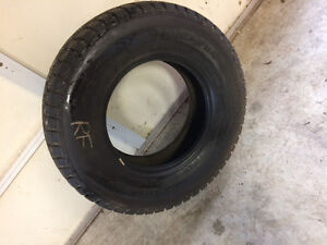 Four Winter studded light truck tires 16 inch
