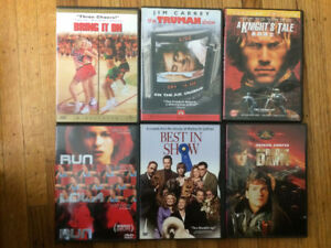 30+ DVD Movies and TV Shows & VCDs