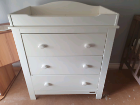 Mamas and Papas Baby Change chest of drawers.