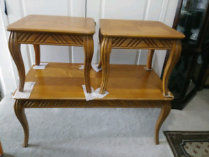 3 piece coffe/ side tables