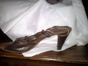 Made in Italy Brown leather