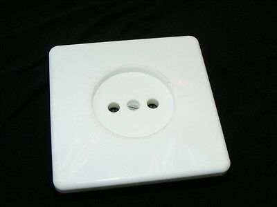 Old Socket White Flush Can Flush-Mounted Loft Design Type Deco Vintage Bridal