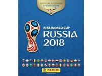 Panini World Cup 2018 stickers to swap