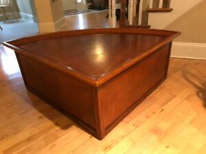 Coffee Table with rising top