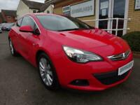 2015 Vauxhall Astra 1.4 SRI GTC Turbo Automatic Red 3 Door Low Mileage Auto