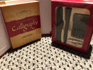 Learn to write in Calligraphy Set!