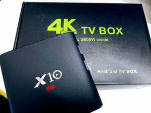 X10 Android TV Boxes